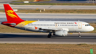 B-6405 - Airbus A319-132 - Capital Airlines