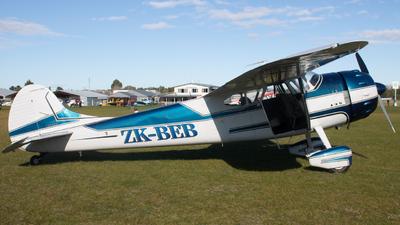 A picture of ZKBEB - Cessna 195 - [7410] - © Jordan Elvy