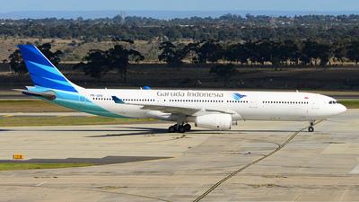 A picture of PKGPE - Airbus A330341 - Garuda Indonesia - © George Canciani