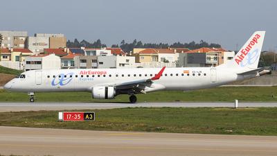 A picture of ECLIN - Embraer E195LR - Air Europa - © Luciano Bragança