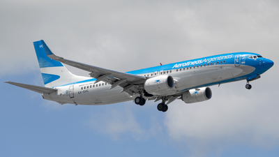 A picture of LVGVC - Boeing 737887 - Aerolineas Argentinas - © dario_spotter