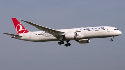 TC-LLA - Boeing 787-9 Dreamliner - Turkish Airlines