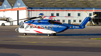 G-IACF - Sikorsky S-92A Helibus - Bristow Helicopters