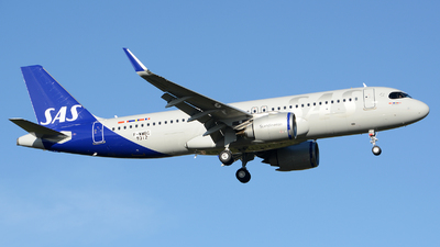 F-WWBC - Airbus A320-251N - Scandinavian Airlines (SAS)