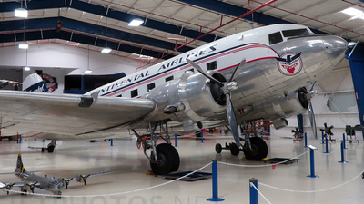 N25673 - Douglas DC-3 - Continental Airlines