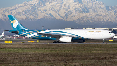A picture of A4ODJ - Airbus A330343 - Oman Air - © Chiodini Luca