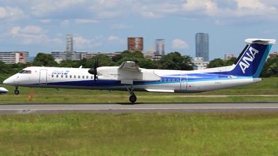 A picture of JA843A - De Havilland Canada Dash 8400 - All Nippon Airways - © AYAHA