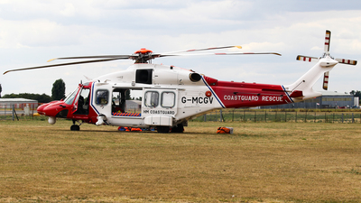 G-MCGV - Agusta-Westland AW-189 - United Kingdom - Coast Guard