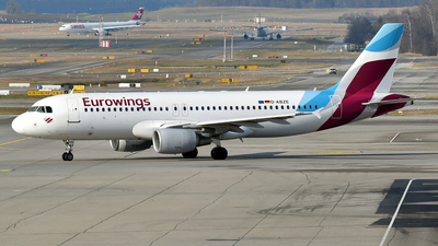 A picture of DABZE - Airbus A320216 - Eurowings - © Anna Zvereva