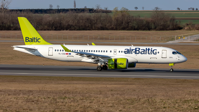 A picture of YLCSE - Airbus A220300 - Air Baltic - © Hanjo Schrenk
