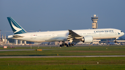 B-KPJ - Boeing 777-367ER - Cathay Pacific Airways