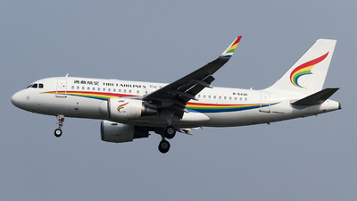 A picture of B6436 - Airbus A319115 - Tibet Airlines - © ceci wong