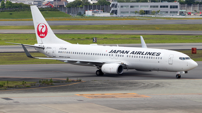 JA333J - Boeing 737-846 - Japan Airlines (JAL)