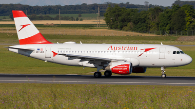 A picture of OELDC - Airbus A319112 - Austrian Airlines - © Alexander Jeglitsch