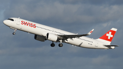 HB-JPB - Airbus A321-271NX - Swiss