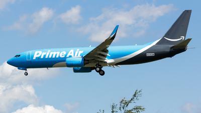N855DM - Boeing 737-83N(BCF) - Amazon Prime Air