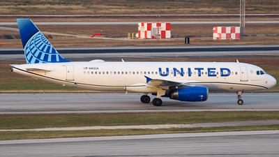 N412UA - Airbus A320-232 - United Airlines