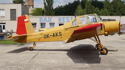 OK-AKS - Let Z-37A Cmel�k - Private