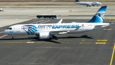 A picture of SUGEX - Airbus A220300 - EgyptAir - © Christian Tondo