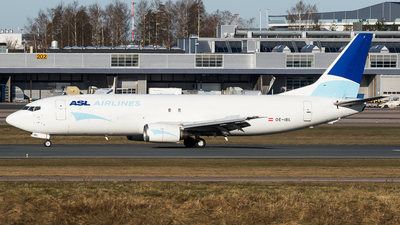 A picture of OEIBL - Boeing 737490(SF) - ASL Airlines Belgium - © Teemu Pesonen