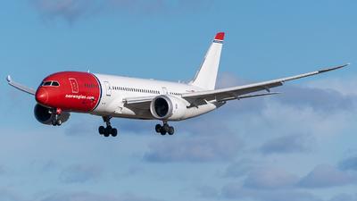 A picture of LNLNC - Boeing 7878 Dreamliner - Norwegian - © Richard Tollefsen