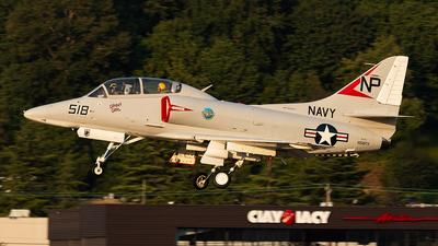 N518TA - McDonnell Douglas TA-4J Skyhawk - Private