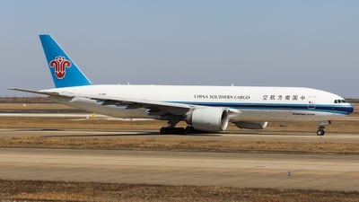A picture of B2081 - Boeing 777F1B - China Southern Airlines - © Charlie-Aviationphotography