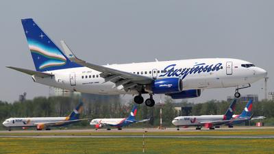 VP-BIO - Boeing 737-7CT - Yakutia Airlines