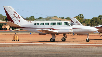 VH-DLF - Cessna 404 Titan - Broome Aviation