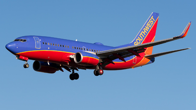 A picture of N760SW - Boeing 7377H4 - Southwest Airlines - © Positive Rate Photography
