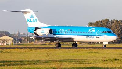 PH-KZT - Fokker 70 - KLM Cityhopper