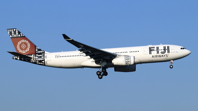DQ-FJV - Airbus A330-243 - Fiji Airways