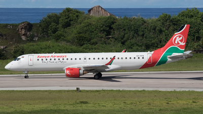 5Y-FFE - Embraer 190-100IGW - Kenya Airways