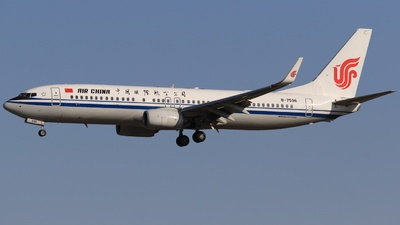 B-7596 - Boeing 737-89L - Air China