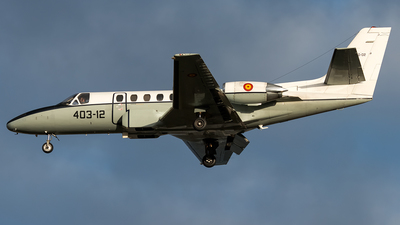 TR.20-02 - Cessna 560XL Citation Excel - Spain - Air Force