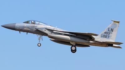 84-0027 - McDonnell Douglas F-15C Eagle - United States - US Air Force (USAF)