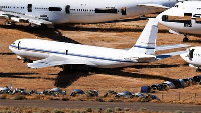 N707CA - Boeing 707-351B - Omega Air
