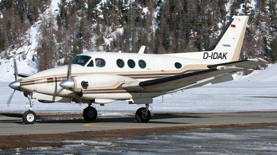 A picture of DIDAK - Beech C90 King Air - [LJ647] - © PAUL LINK