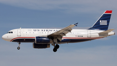 N820AW - Airbus A319-132 - US Airways