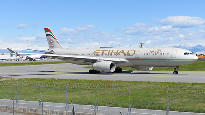A6-AFB - Airbus A330-343 - Etihad Airways