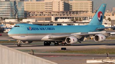 HL7610 - Boeing 747-8HTF - Korean Air Cargo