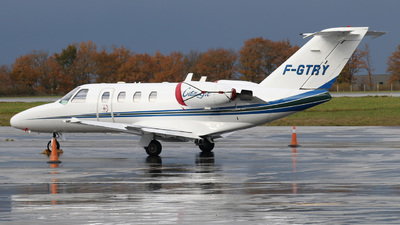 F-GTRY - Cessna 525 CitationJet 1 - Private