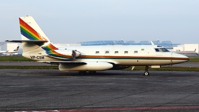 VP-CSM - Lockheed L-1329 JetStar II - Ashmawi Aviation