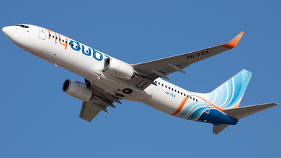 A picture of A6FEX - Boeing 7378KN - FlyDubai - © Tony Goldin