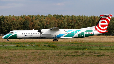 SP-EQE - Bombardier Dash 8-Q402 - LOT Polish Airlines
