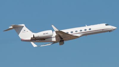 A picture of N87WD - Gulfstream V - [649] - © Enzo Gattullo - Plane Spotters Bari