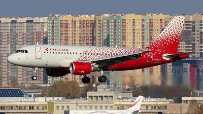 VQ-BAV - Airbus A319-111 - Rossiya Airlines