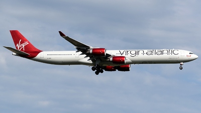 G-VWEB - Airbus A340-642 - Virgin Atlantic Airways