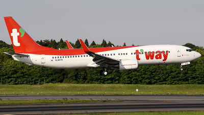 HL8070 - Boeing 737-8AS - T'Way Air