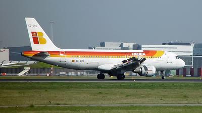 EC-GRJ - Airbus A320-211 - Iberia